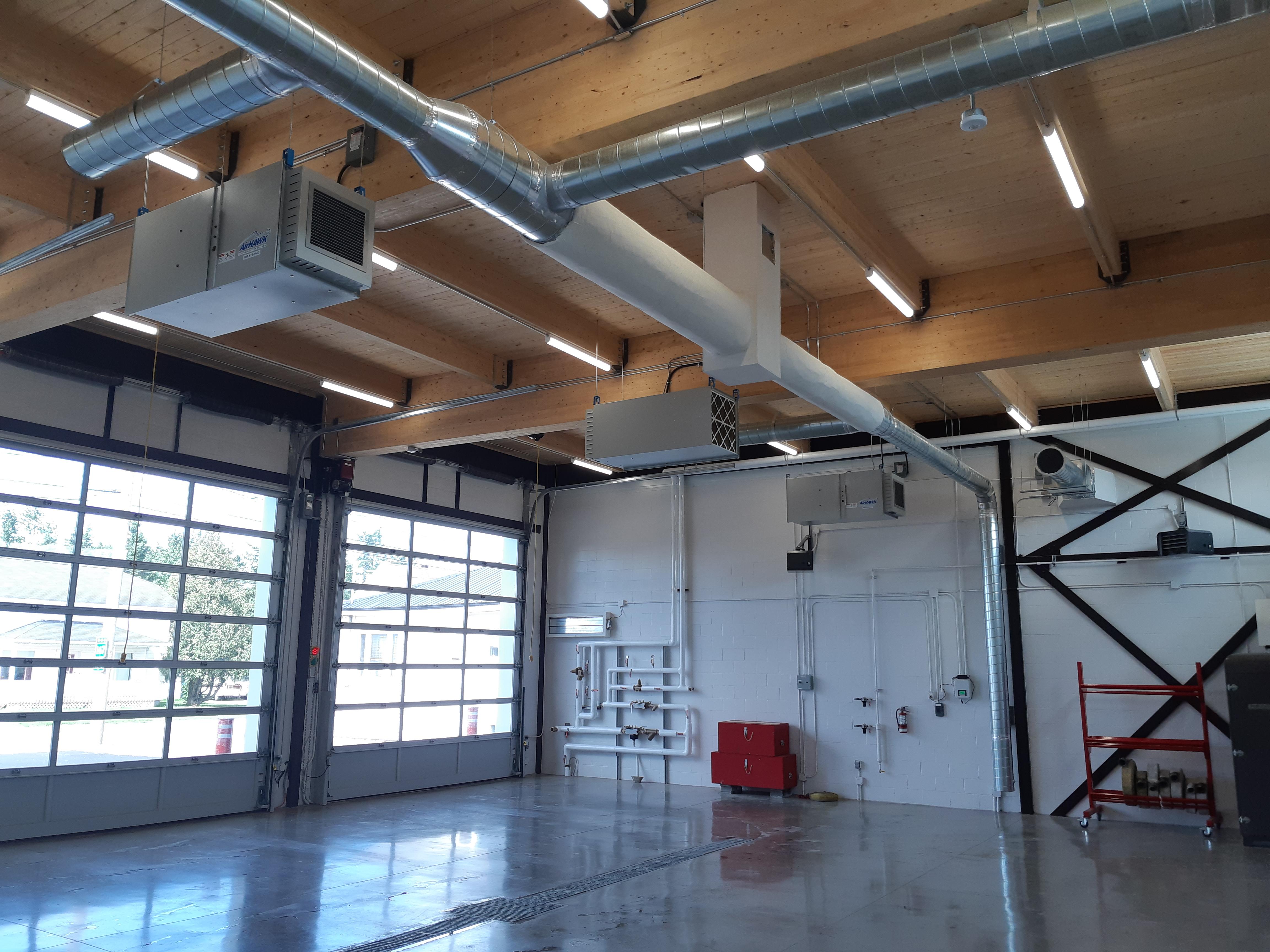 Construction en bois : Caserne (La Doré) - Alliance Forêt Boréale
