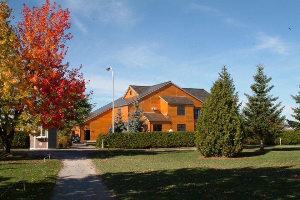 Construction en bois : Club de golf (St-Prime) - Alliance Forêt Boréale