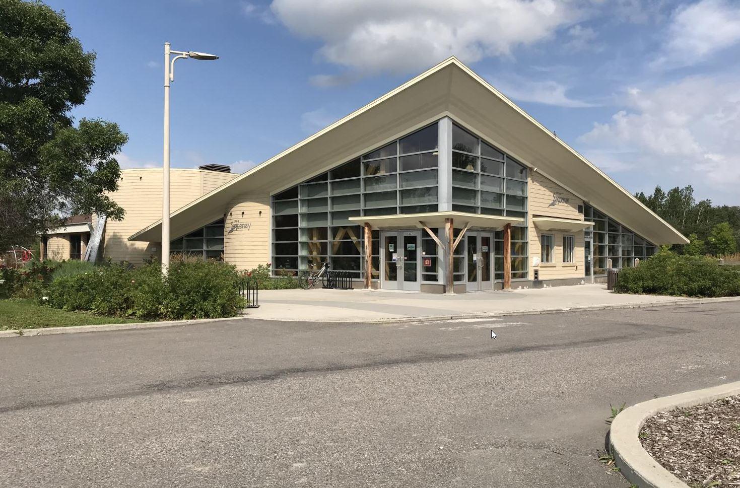 Construction : Accueil Parc Rivière-du-Moulin (Saguenay) - Alliance Forêt Boréale