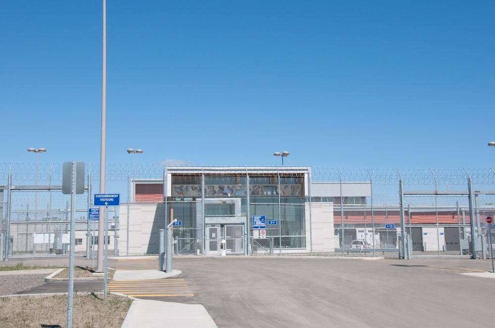 Construction en bois : Centre de détention (Roberval) - Alliance Forêt Boréale