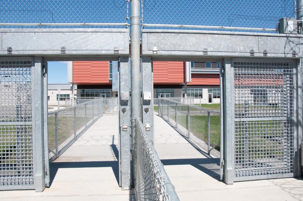 Centre de détention Roberval construction en bois