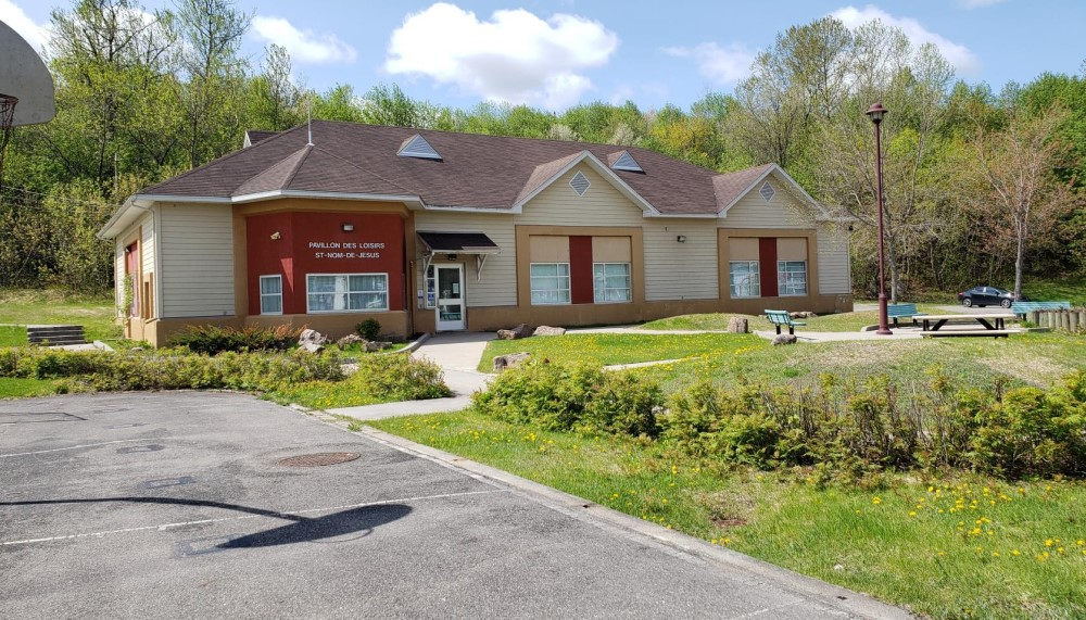 Construction en bois : Centre comm. St-Nom-de-Jesus (Saguenay) - Alliance Forêt Boréale